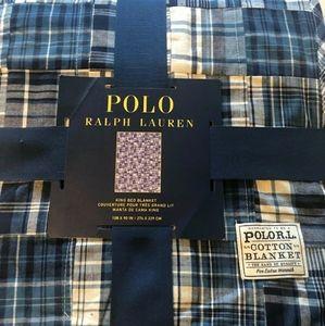 King polo blanket